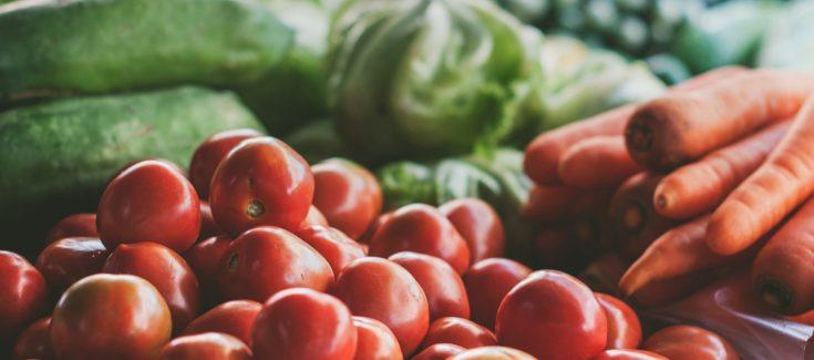 produce at farmer's market
