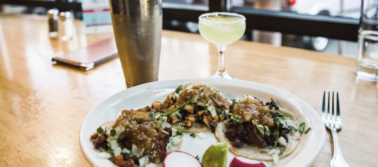 tacos from Fogon Cocina