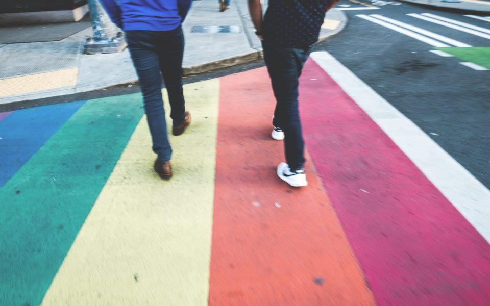 Rainbow Sidewalks