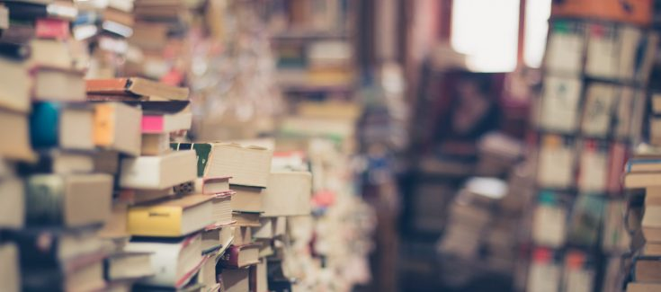Twice Sold Tales - books on shelves